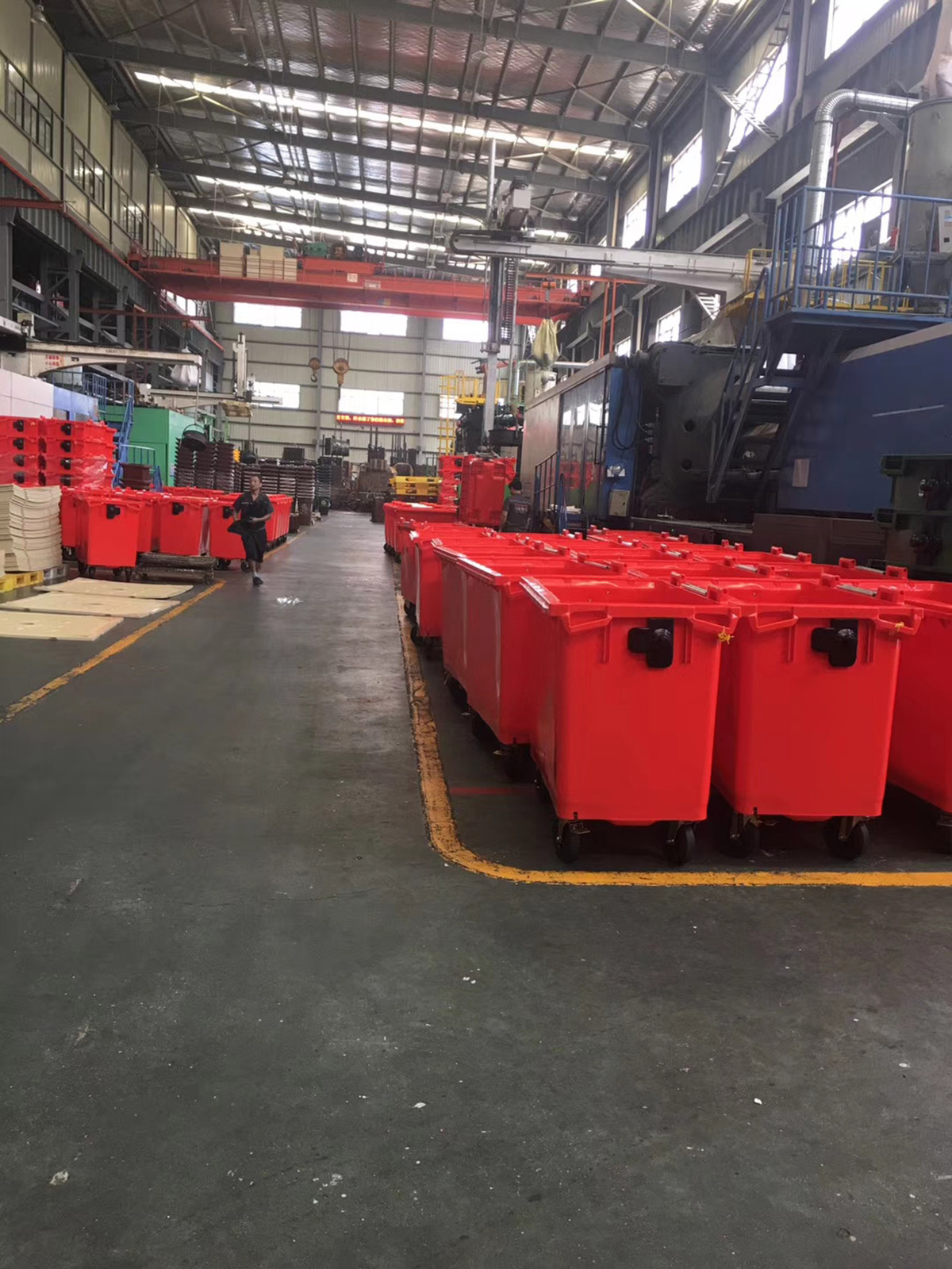 Garbage can sorting